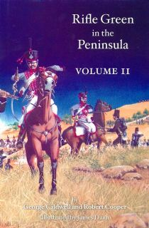 Book-Rifle Green in the Peninsula.  Volume II